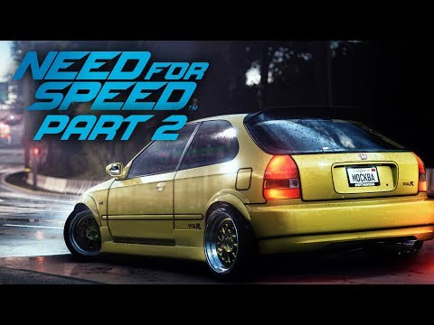 NEED FOR SPEED 2015 Gameplay Part 2 - DRIFTING