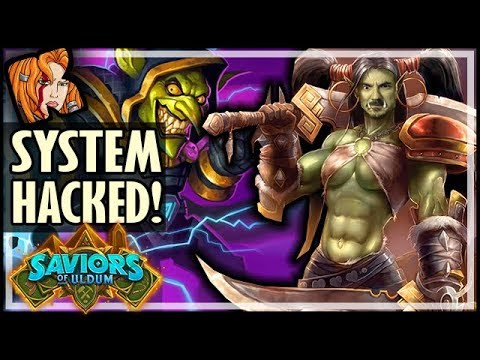 System Successfully HACKED! - Saviors of Uldum Hearthstone