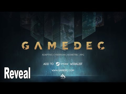Gamedec - Announcement Trailer Gamescom 2019 [4K 2160P]