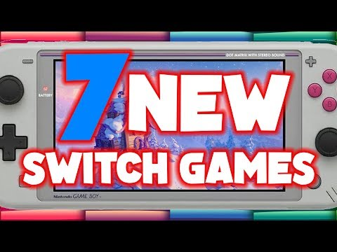 7 PRETTY New Switch Games! One Game Out Now! (New Nintendo Switch Games)