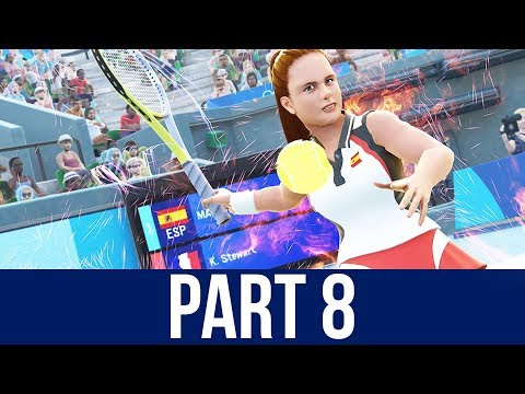 TOKYO 2020 Olympics Video Game Gameplay Part 8 - TENNIS