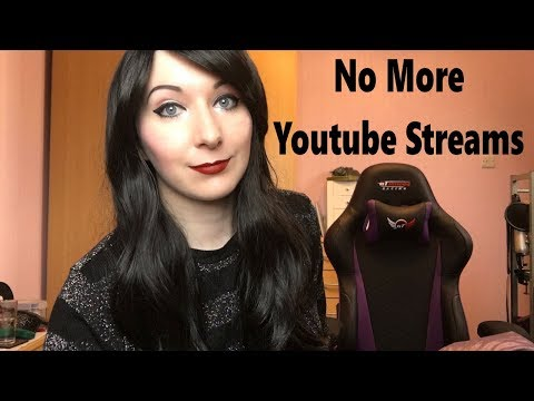 NO MORE YOUTUBE STREAMS - Streams on Twitch only