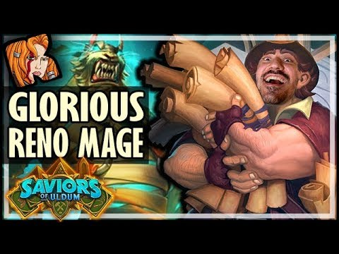 RENO MAGE RETURNS TO GLORY! - Saviors of Uldum Hearthstone