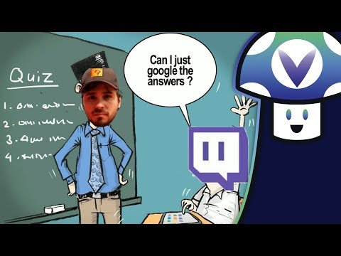[Vinesauce] Vinny - Edutainment Twitch Chat Quiz