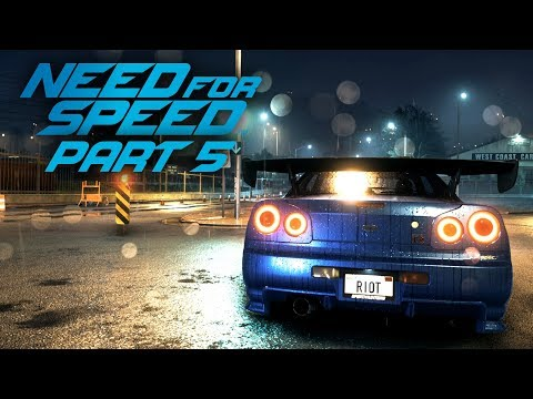 NEED FOR SPEED 2015 Gameplay Part 5 - NISSAN SKYLINE R34