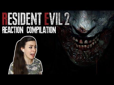 Resident Evil 2 Reaction Compilation