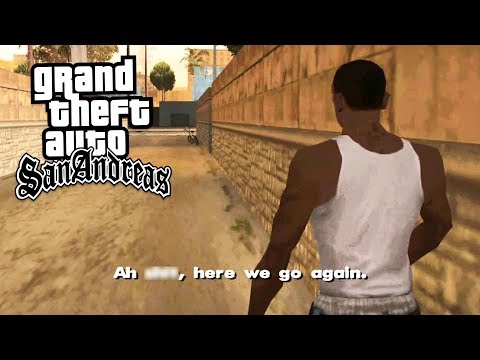 GTA San Andreas in 2019! (GTA San Andreas, Part 1 Walkthrough)