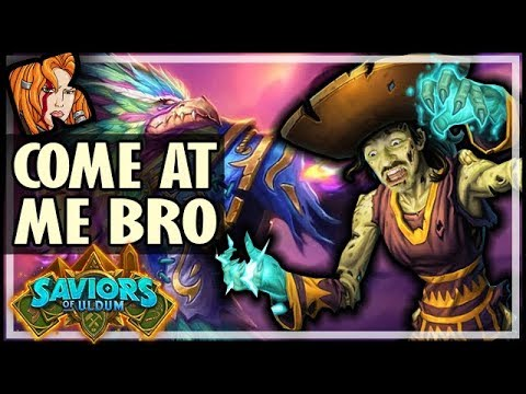 COME AT ME BRO PRIEST DECK! - Saviors of Uldum Hearthstone