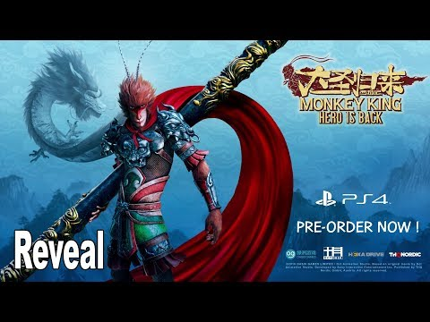 Monkey King: Hero is Back - Reveal Trailer [HD 1080P]