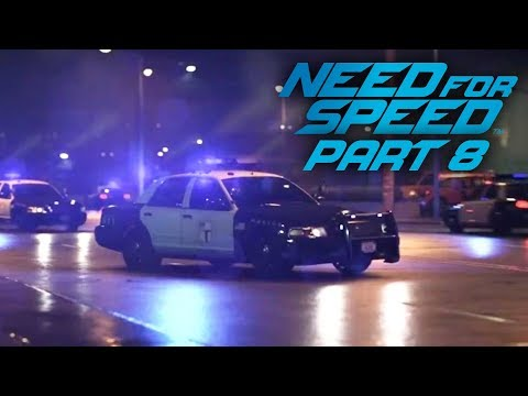 NEED FOR SPEED 2015 Gameplay Part 8 - WHEN DID THE COP GET SO GOOD ???
