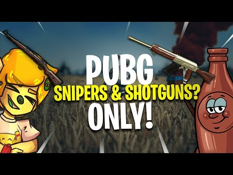 SHOTGUN AND SNIPER ONLY - PUBG Xbox One Gameplay