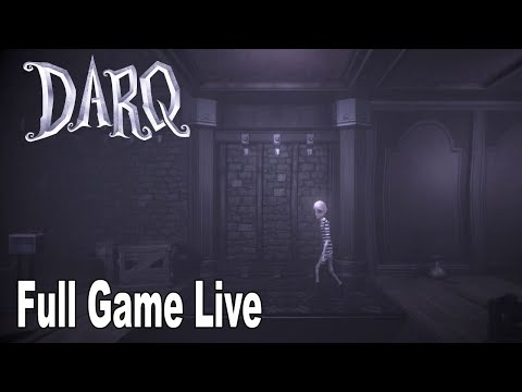 DARQ - Full Game Walkthrough No Commentary [HD 1080P]