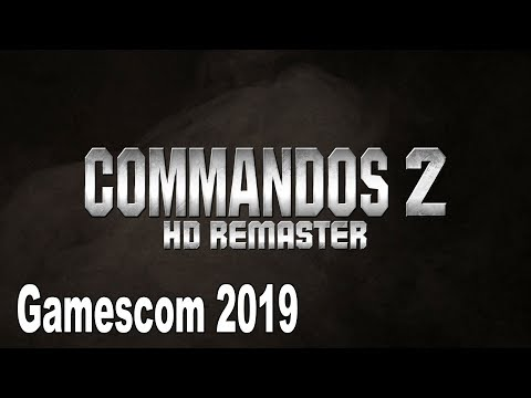 Commandos 2 HD Remaster - Gamescom 2019 Trailer [HD 1080P]