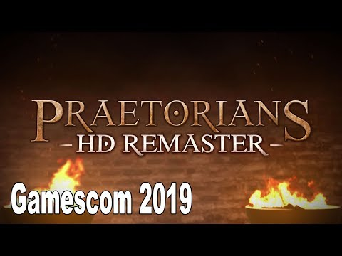 Praetorians HD Remaster - Gamescom 2019 Trailer [HD 1080P]