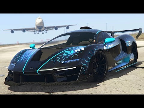 *NEW* GTA 5 McLaren Senna $3,250,000 Spending Spree! (GTA 5 New Cars)