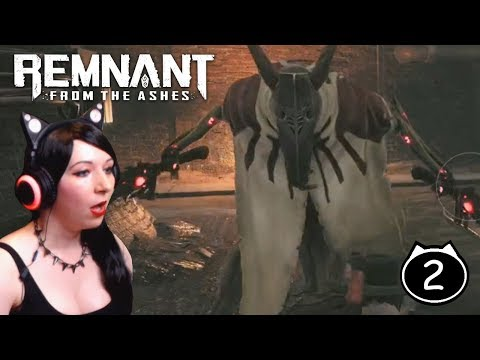 What the heck is that thing?? - Remnant: From the Ashes Gameplay Walkthrough Part 2