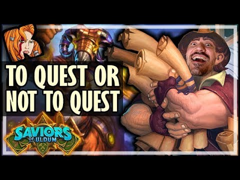 QUEST MAGE IS GREAT! *Just Don't Play The Quest* - Saviors of Uldum Hearthstone