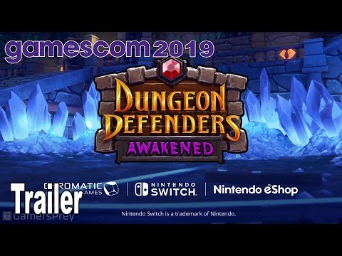 Dungeon Defenders Awakened - Nintendo Switch Timed Exclusive Trailer [HD 1080P]