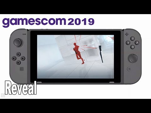 SUPERHOT - Nintendo Switch Reveal Trailer Gamescom 2019 [HD 1080P]