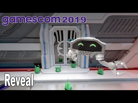 Spacebase Startopia - Reveal Trailer Gamescom 2019 [HD 1080P]