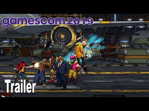 Streets of Rage 4 - Gamescom 2019 Trailer [HD 1080P]