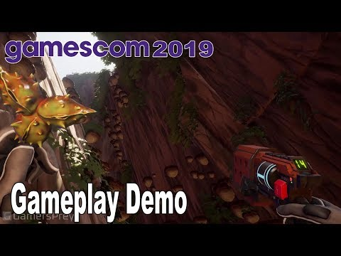 Journey to the Savage Planet - Gameplay Demo Gamescom 2019 [HD 1080P]