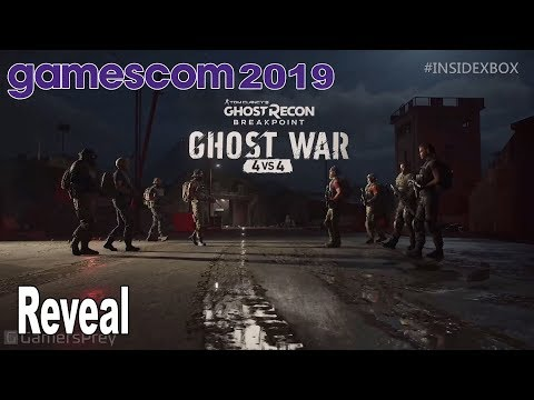 Ghost Recon Breakpoint - Ghost War Reveal Trailer Gamescom 2019 [HD 1080P]