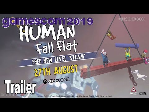 Human Fall Flat - Steam DLC Trailer Gamescom 2019 [HD 1080P]