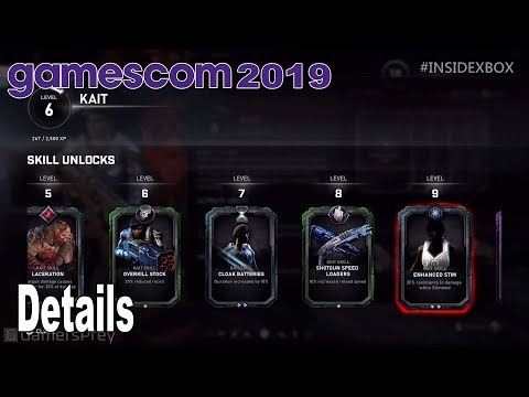 Gears 5 - Horde Mode Details Gamescom 2019 [HD 1080P]
