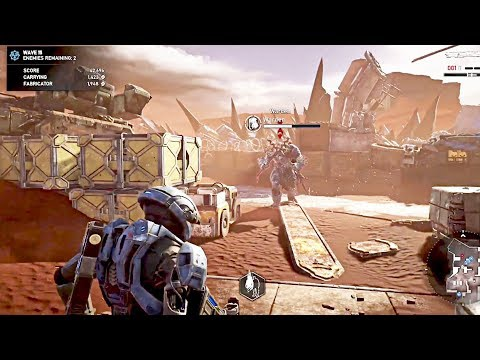 GEARS 5 HORDE - Gamescom 2019 Gameplay Demo