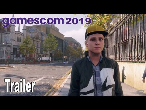 Watch Dogs Legion - Gamescom 2019 Trailer [HD 1080P]