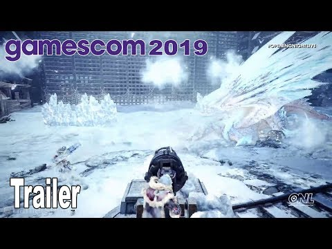 Monster Hunter World: Iceborne - Gamescom 2019 Trailer [HD 1080P]