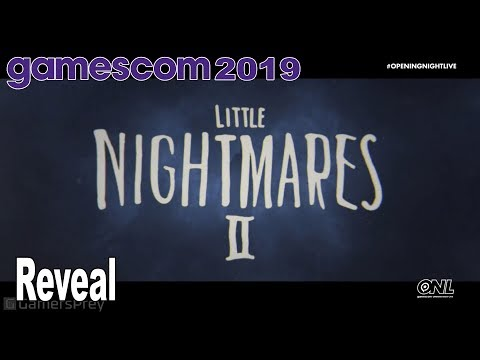 Little Nightmares 2 - Reveal Trailer Gamescom 2019 [HD 1080P]