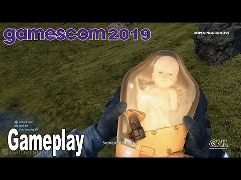 Death Stranding - Gameplay Demo Gamescom 2019 [HD 1080P]