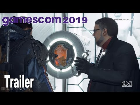 Death Stranding - Deadman and Bridge Baby Trailer Gamescom 2019 [HD 1080P]