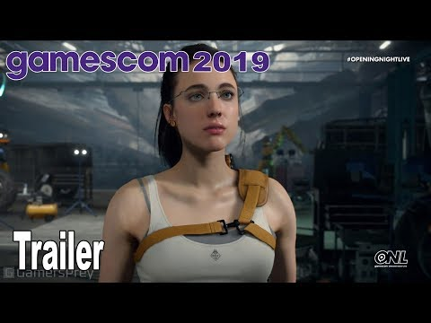 Death Stranding - Mama (Margaret Qualley) Trailer Gamescom 2019 [HD 1080P]