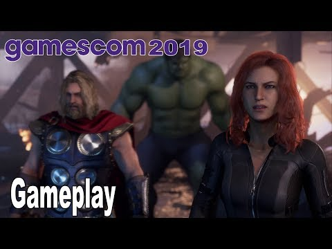 Marvel's Avengers - A-Day Demo Gameplay [4K 2160P]