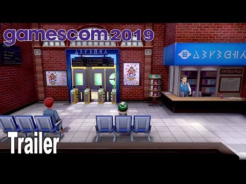 Pokémon Sword and Pokémon Shield - Gamescom 2019 Gameplay Trailer [HD 1080P]