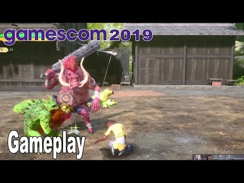 Monkey King: Hero is Back - Gameplay Demo Gamescom 2019 [HD 1080P]
