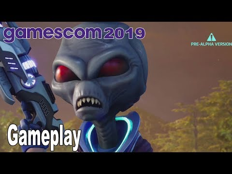 Destroy All Humans! Remake - Gameplay Demo Gamescom 2019 [HD 1080P]