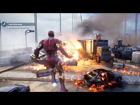 MARVEL'S AVENGERS - New Gamescom 2019 Gameplay Demo