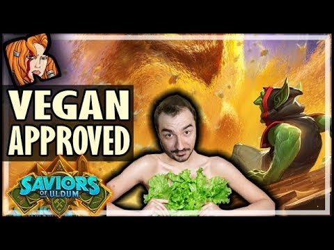 NEW Token Druid? Vegan Approved! - Saviors of Uldum Hearthstone
