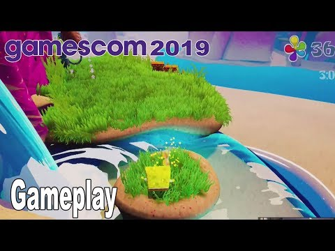 SpongeBob SquarePants: Battle for Bikini Bottom Rehydrated - Gameplay Demo Gamescom 2019 [HD 1080P]