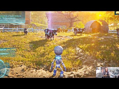 DESTROY ALL HUMANS REMAKE - New Gamescom 2019 Gameplay Demo