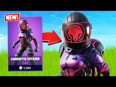 New SOLO CASH CUP and CORRUPTED VOYAGER Skin! (Fortnite Battle Royale)