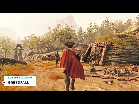 GREEDFALL - New Gamescom 2019 Gameplay Demo
