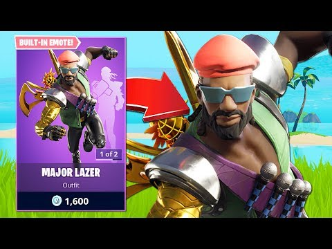 New Major Lazer Skin & Solo Cash Cup Tournament! (Fortnite Battle Royale)