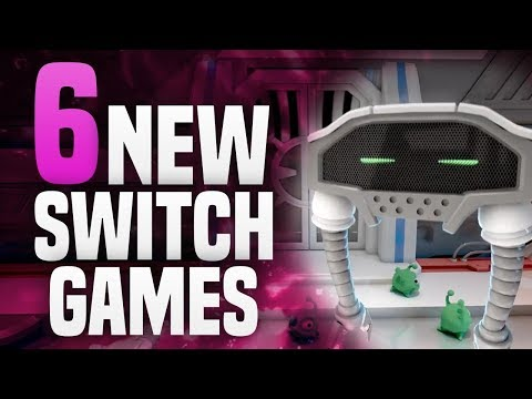 6 AWESOME NEW Switch Games Coming to Nintendo Switch! (New Nintendo Switch Games)