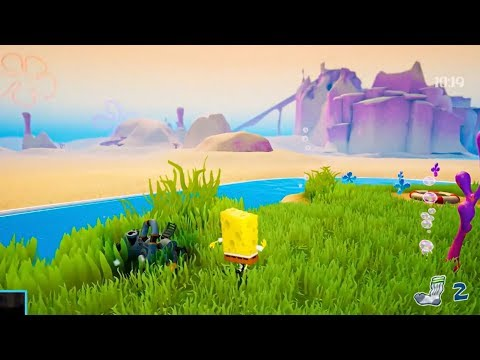 SPONGEBOB: BATTLE FOR BIKINI BOTTOM - New Gamescom 2019 Gameplay Demo