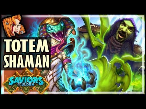 OMG TOTEM SHAMAN IS REAL?! - Saviors of Uldum Hearthstone